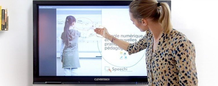 L'écran interactif tactile, un outil intuitif ?